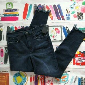 NWT Joe's High Rise Skinny Ankle Jeans Flawless 27
